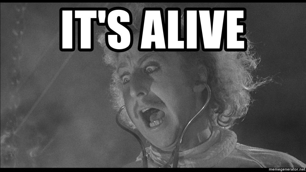 Young Frankenstein It's Alive