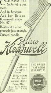 vintage toothbrush ad